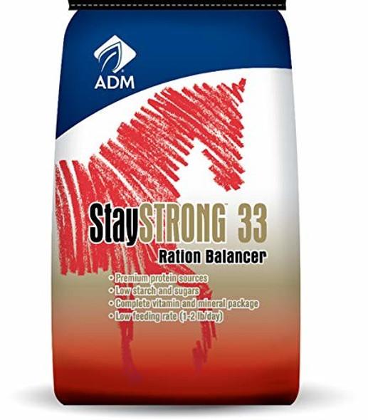 ADM ANIMAL NUTRITION 594AAA24 Staystrong 33, Ration Balancer, 50 lb