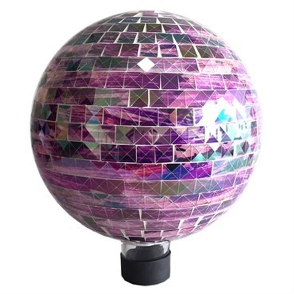 Very Cool Stuff GLMSQ102 Glass Gazing Globe, Square Sunset, 10 in