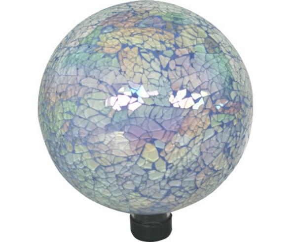 Very Cool Stuff GLMBG102 Glass Gazing Globe, Blue Grout, 10 in