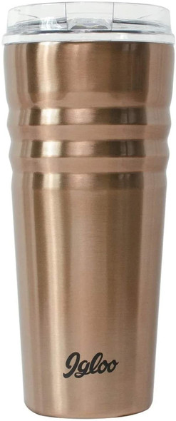 Igloo Legacy 70118 Insulated 20 OZ Stainless Steel Tumbler, Copper color