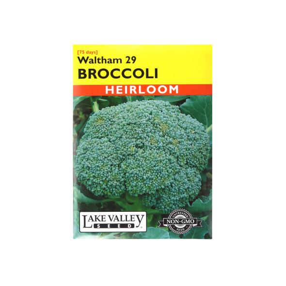 Lake Valley Seed Broccoli Waltham 29
