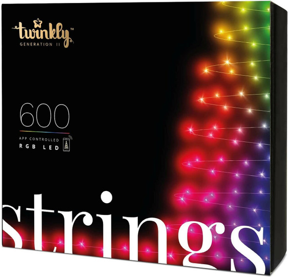 Twinkly App Control String Light With 600 Multicolor RGB LED Lights