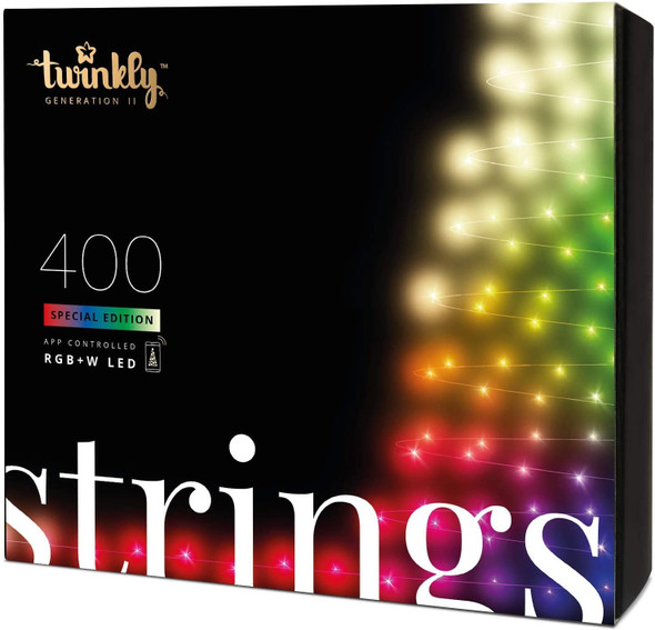 Twinkly App Control String Light With 400 Multicolor RGB+W LED Lights
