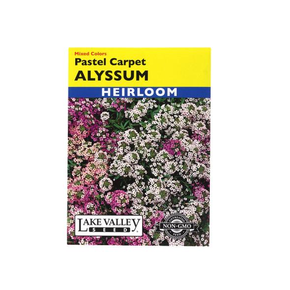 Lake Valley Seed: Alyssum Pastel Carpet