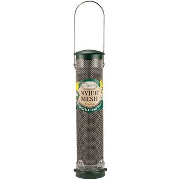 Aspects (ASP439) Quick Clean Spruce Nyjer Mesh Bird Feeder