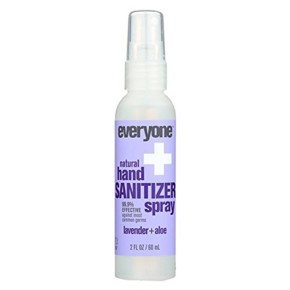Everyone Hand Sanitizer Spray, Aloe Lavender (Pack of 1)