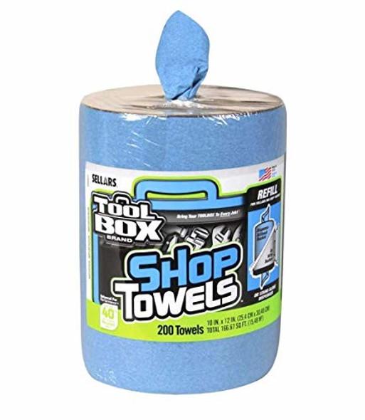 Tool Box Brand Shop Towels- 200 Towels Refill