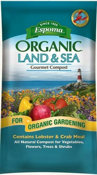 Espoma 1 Cubic-foot Organic Land & Sea Gourmet Compost