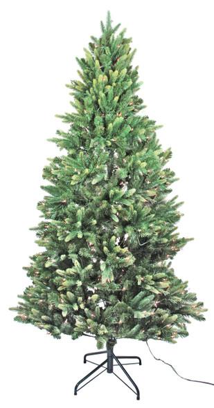Garden Elements (#C16 E42860HL) Fir Hinged Tree, 6' H, 350 Clear Lights
