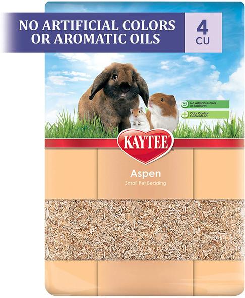 Kaytee (#100032005) All Natural Aspen Small Pet Bedding, 2cf (expands to 4cf)