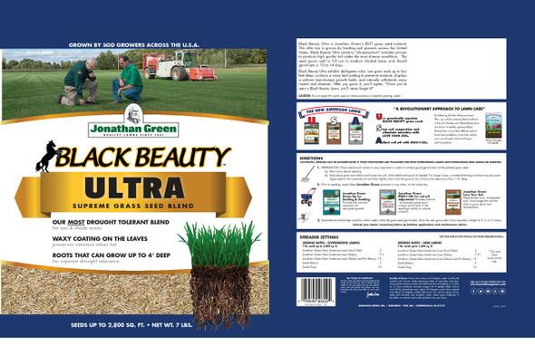 Jonathan Green Black Beauty Ultra Grass Seed, 25 Lb