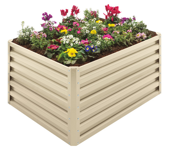 Stratco Beige Double Height 20 CU FT Capacity Raised Garden Bed (#LG-40804)