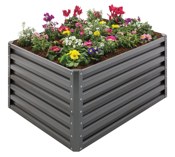 Stratco Slate Double Height 20 CU FT Capacity Raised Garden Bed (#LG-40805)