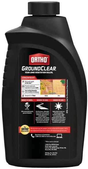 Ortho (#0433310) GroundClear Year Long Vegetation Killer, 32 oz concentrate