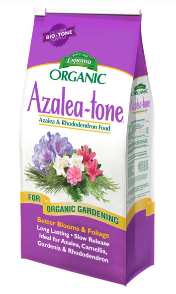 Espoma (#AT8) Organic Azalea-tone Azalea & Rhododendron food, 8lb bag
