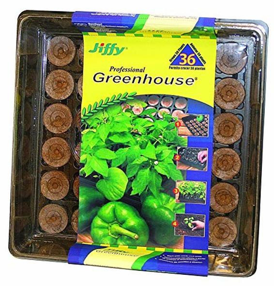 Jiffy J336ST16PC 36MM Professional Greenhouse, 36 Pellets