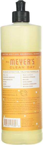 Mrs. Meyerƒ??s 17430 Clean Day Orange Clove Liquid Dish Soap, 16oz