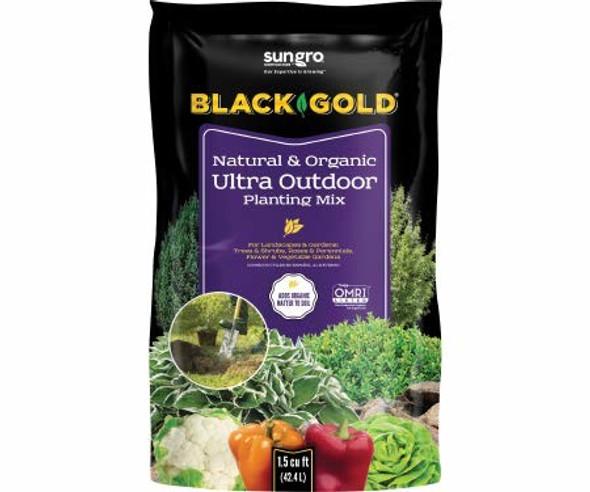 Black Gold Natural & Organic Ultra Outdoor Planting Mix, 1.5 CF