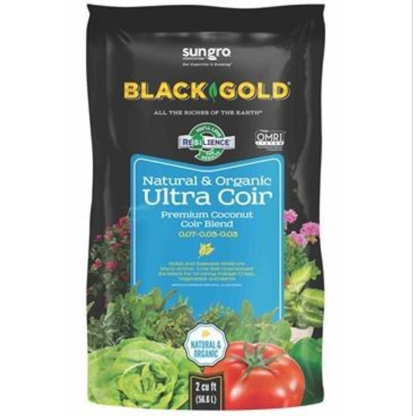 Black Gold Ultra Coir Premium Coconut Coir Blend, 2 CF