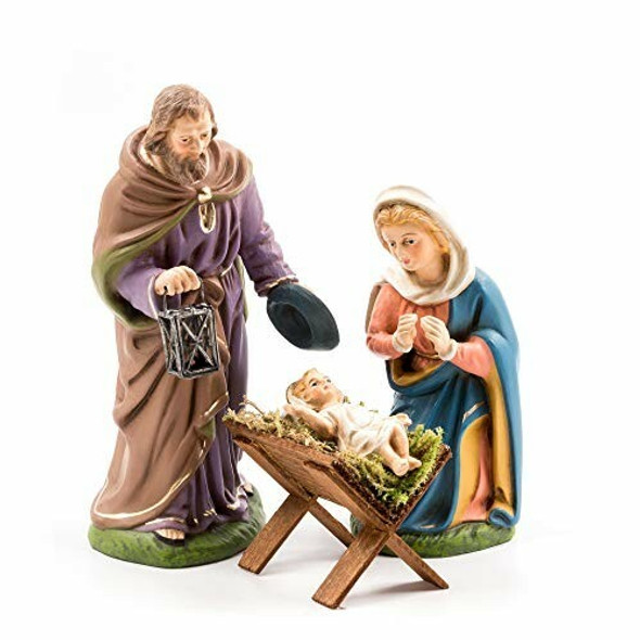 MAROLIN (#403_40) Holy Family - 3 Figures, to 4.75 in. Figures