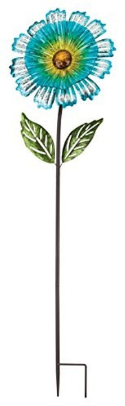 Regal Art & Gift 11694 Cosmo Flower 53 inch-Blue Garden Stake