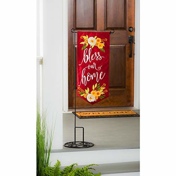 Bless Our Home Everlasting Impressions Textile Decor - 13 x 1 x 28 Inches