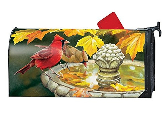 Studio M Fall Outdoor Mailbox Cover MailWrap - Pretty Reflection