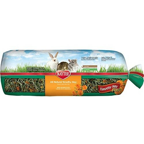 Kaytee Products (#100037201) All Natural Timothy Hay Plus With Marigolds, 24 Oz