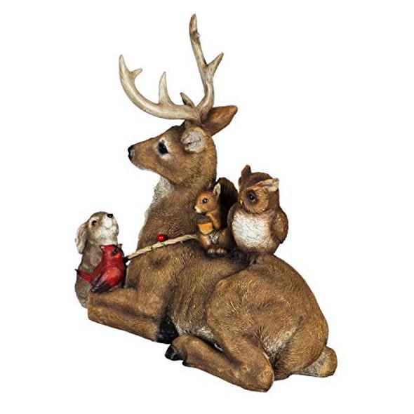 Evergreen Garden Beautiful Decorative Seasonal Deer and Woodland Creatures
