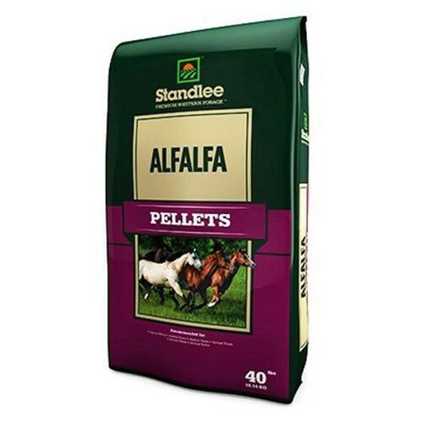 Standlee Hay Company (#1175-30101-0-0) Premium Alfalfa Pellets, 40 lb bag