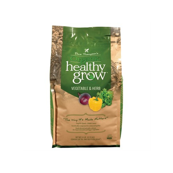 Dave Thompson's Organic Healthy Grow Vegetable and Herb Fertilizer, 6 lb