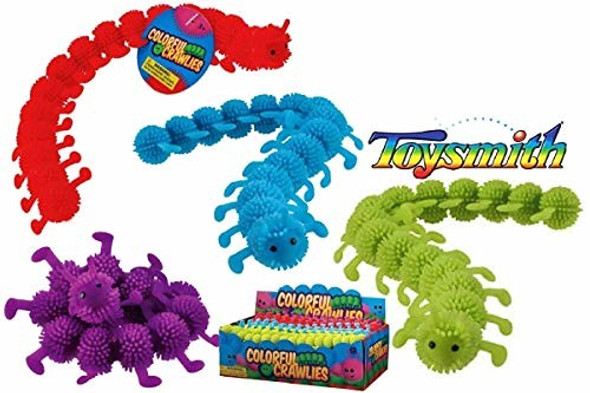 Toysmith Colorful Crawlies Pack of 1