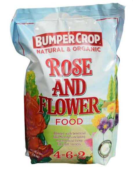 Bumper Crop Rose and Flower Food, 12 Lb, 4-6-2