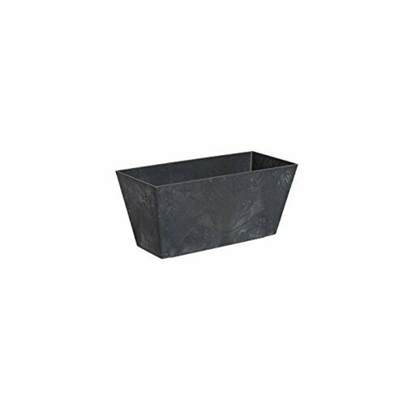 Black Novelty ArtStone Ella Flower Box - 14.5 Inch
