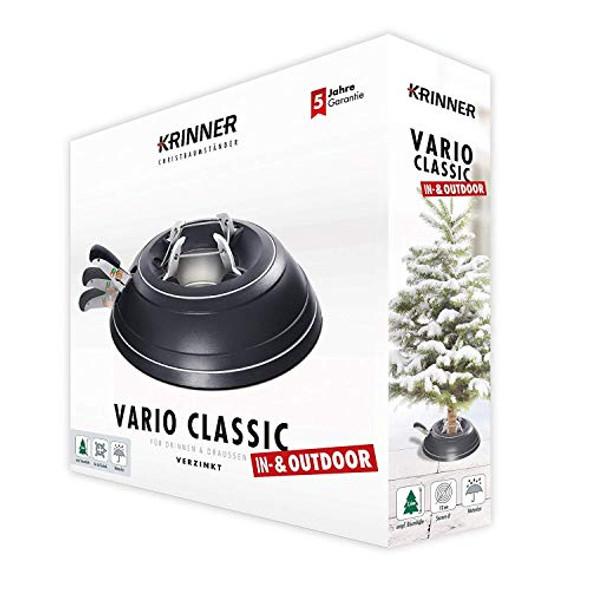 Krinner's Tree Genie Black Vario Christmas Tree Stand