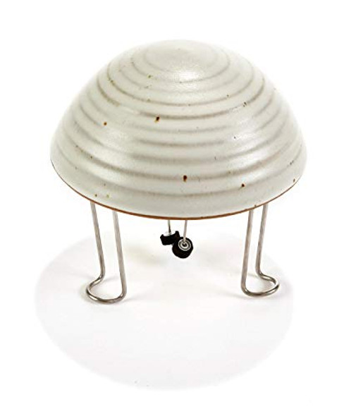API Bird Bath Water Circulator Water Wiggler with White Pottery Cover (Item No. 5WWG-W)