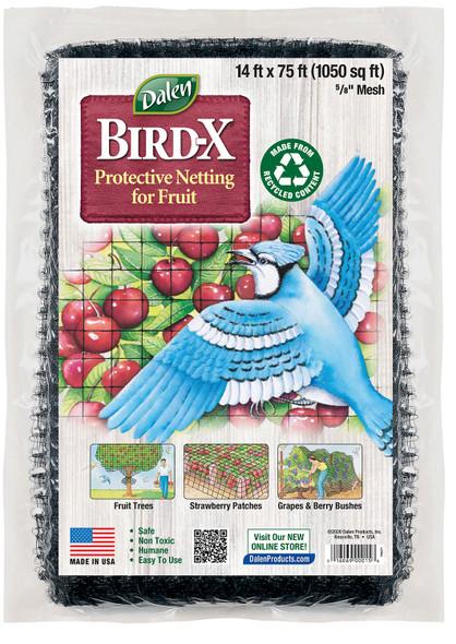 Gardeneer by Dalen Garden Bird-X Netting, 14' x 75'