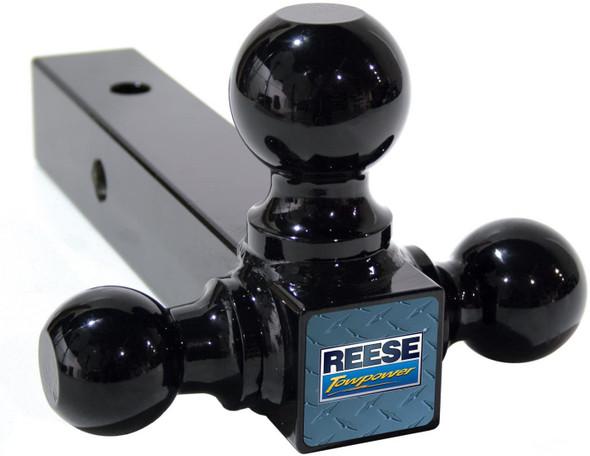 Reese Towpower (#21512) Multiple-Ball Ball Mount, Black, Medium