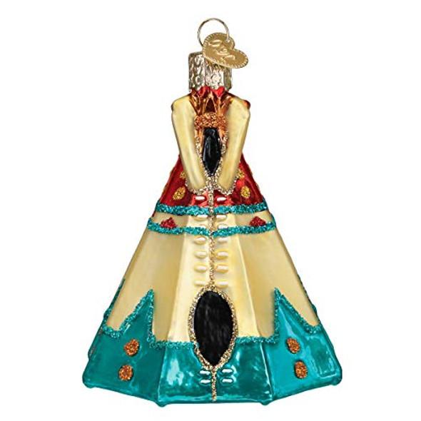 Old World Christmas (#20111) Teepee Ornament