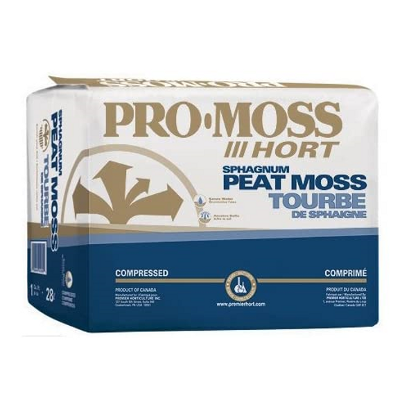 Premier 0078P Pro Moss Horticulture Retail Peat Moss, 3.8 Cubic Feet- Repaired Bag
