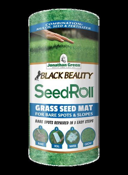 Jonathan Green (#10410) Black Beauty Biodegradable Grass Seed Roll -50 Sq Ft