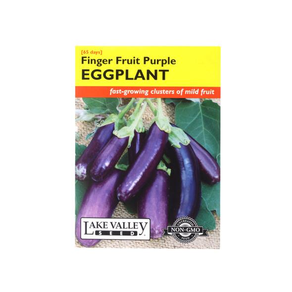 Finger Fruit Purple Eggplant Seeds