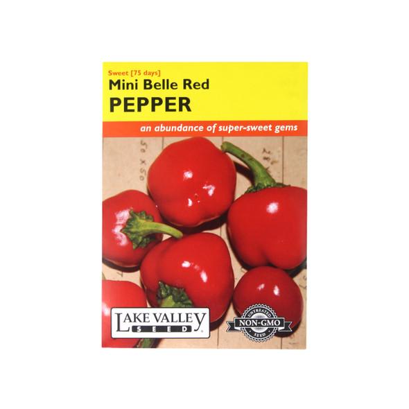 Sweet Mini Belle Red Sweet Pepper