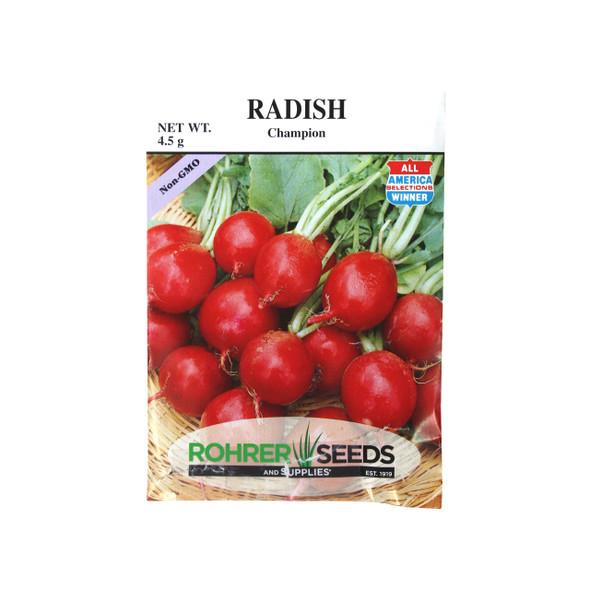 Rohrer Seeds Champion Radish