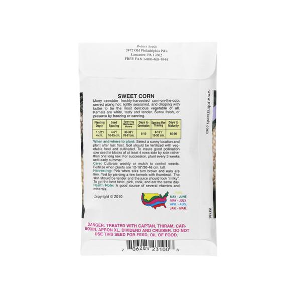 Rohrer Seeds Silver Queen Hybrid Sweet Corn