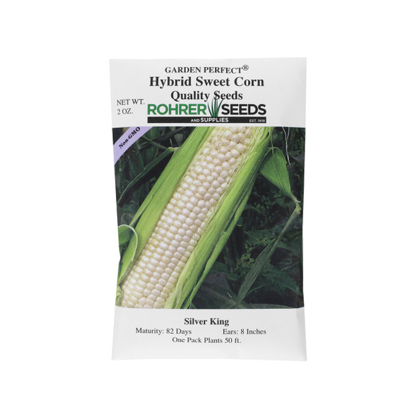 Rohrer Seeds Silver King Hybrid Sweet Corn