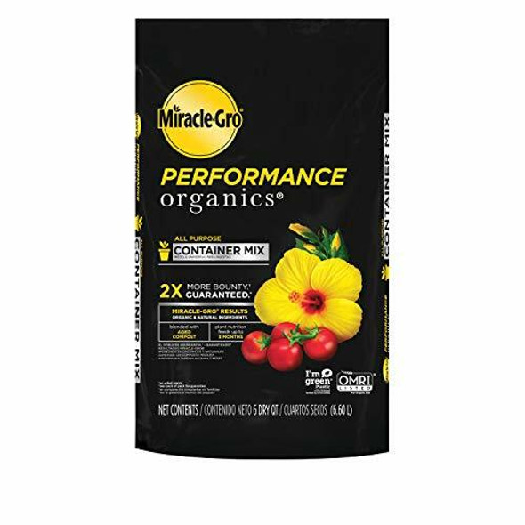 Miracle-Gro Performance Organics All Purpose Container Mix, 6 qt.