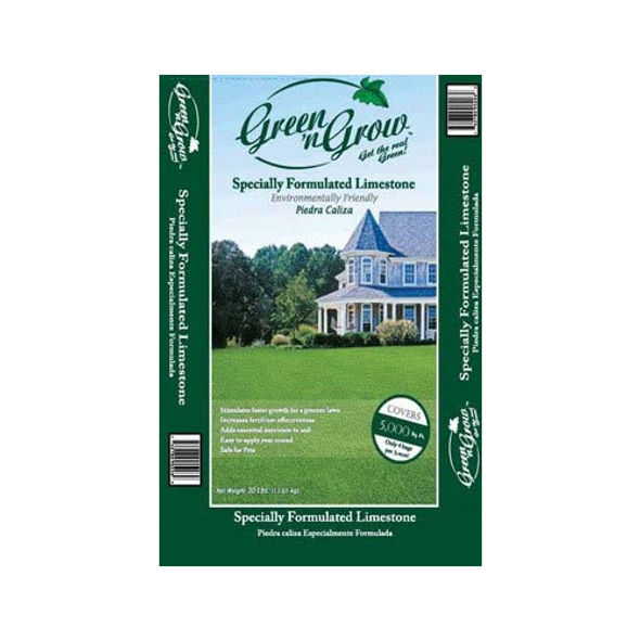 Green 'N Grow Pelletized Time Released Lime Plastic Bag 30 Lb.