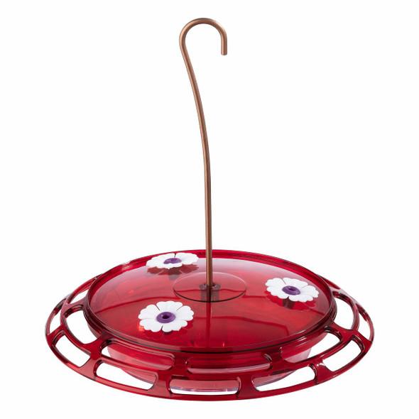 More Birds?? 3-in-1 Hummingbird Feeder, Plastic, 6oz Capacity w/ 3 Feeding Ports