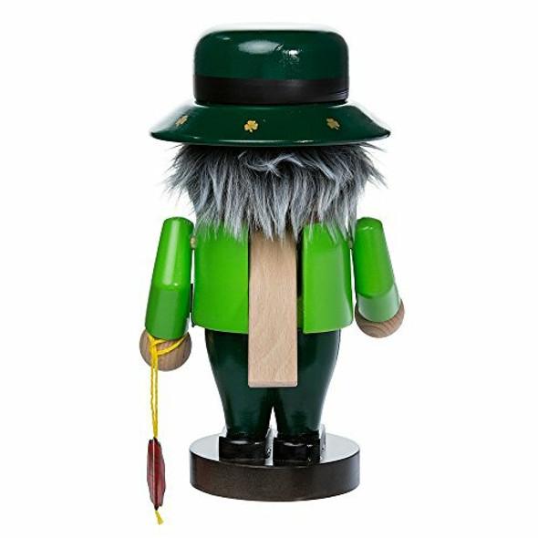 "Kurt Adler Steinbach Irish Gnome Nutcracker, 10"""